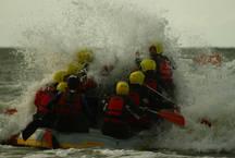 raften in de Noordzee